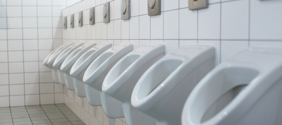 4 Steps to Disinfecting Toilets and Urinals